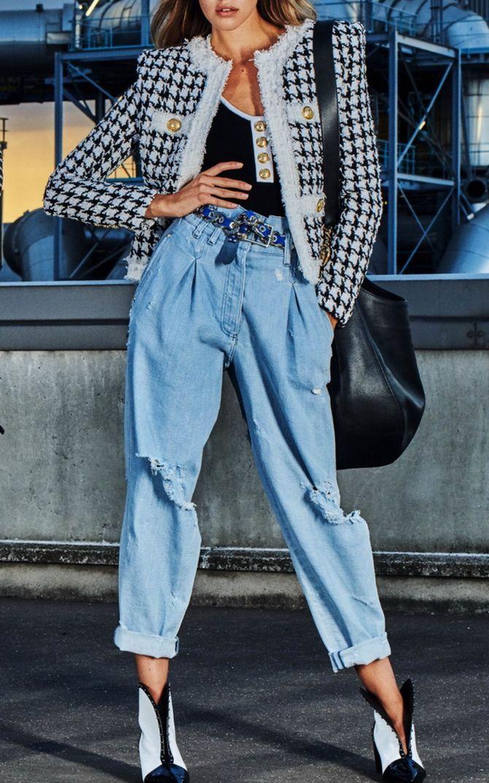 Як подовжити ноги за допомогою джинсів – модні прийоми 31
