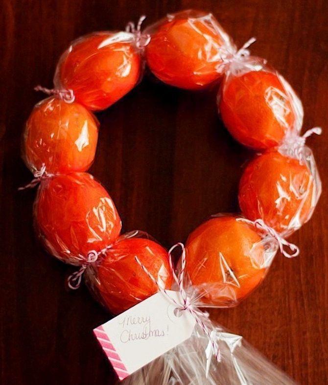 Новогодний декор из мандаринов: 7 необычных идей 16