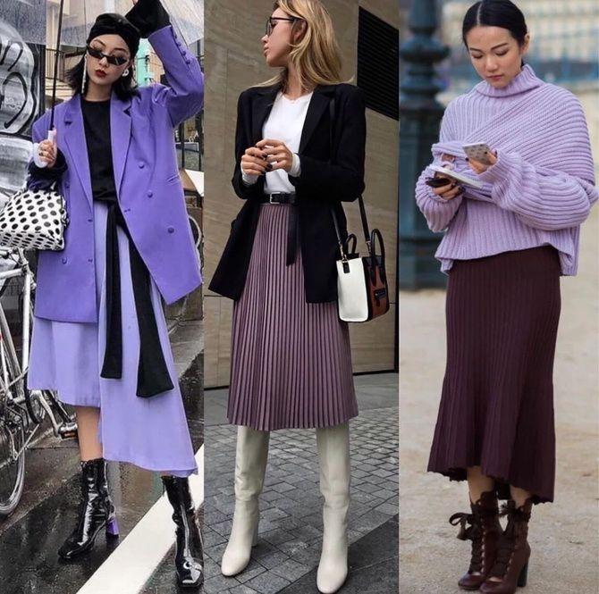 5 идей, как правильно носить фиолетовый цвет 1