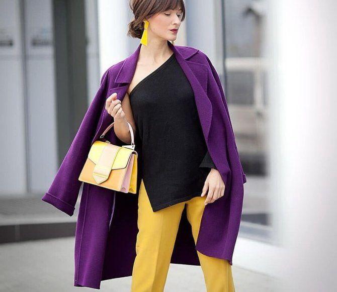 5 идей, как правильно носить фиолетовый цвет 10