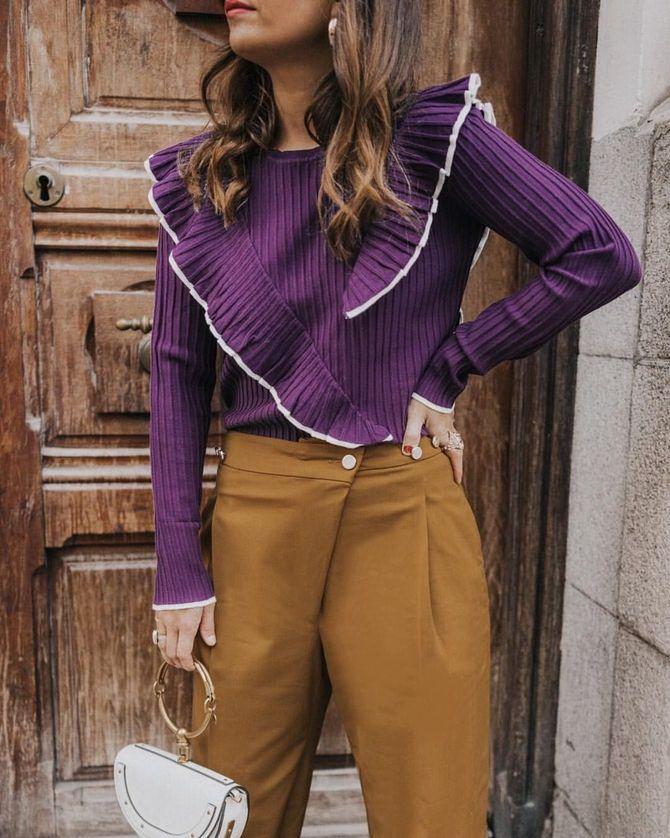 5 идей, как правильно носить фиолетовый цвет 12