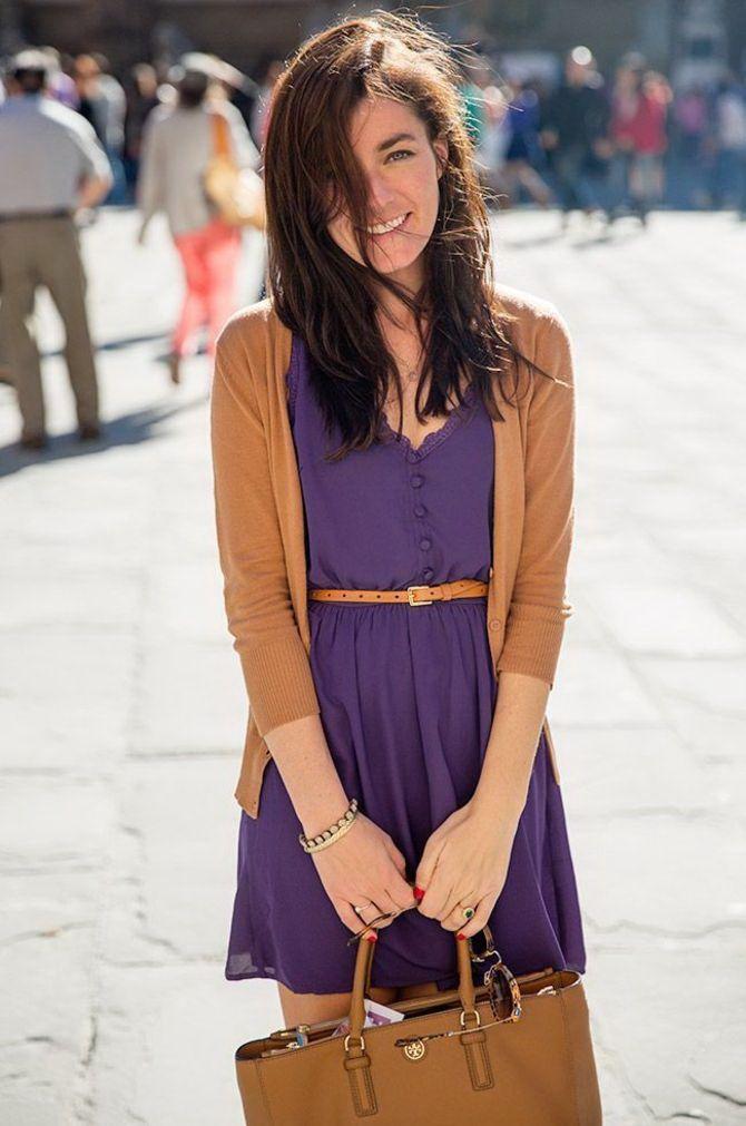 5 идей, как правильно носить фиолетовый цвет 13