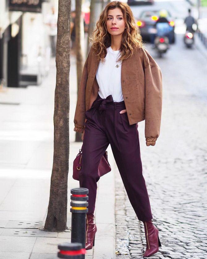 5 идей, как правильно носить фиолетовый цвет 14