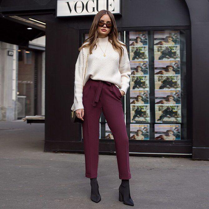 5 идей, как правильно носить фиолетовый цвет 19