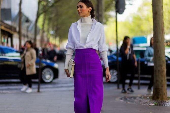 5 идей, как правильно носить фиолетовый цвет 2
