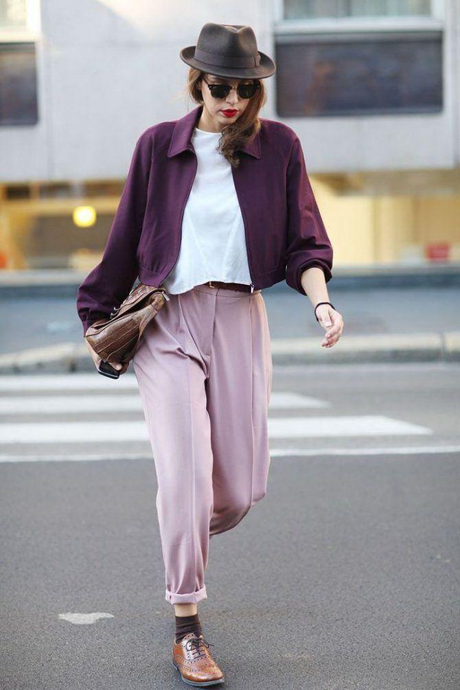 5 идей, как правильно носить фиолетовый цвет 3