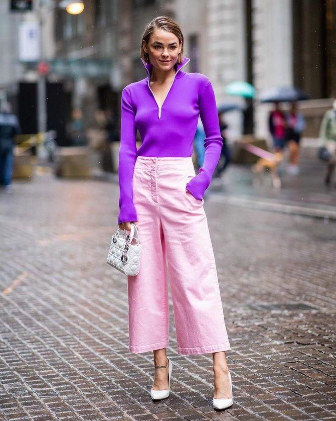 5 идей, как правильно носить фиолетовый цвет 4