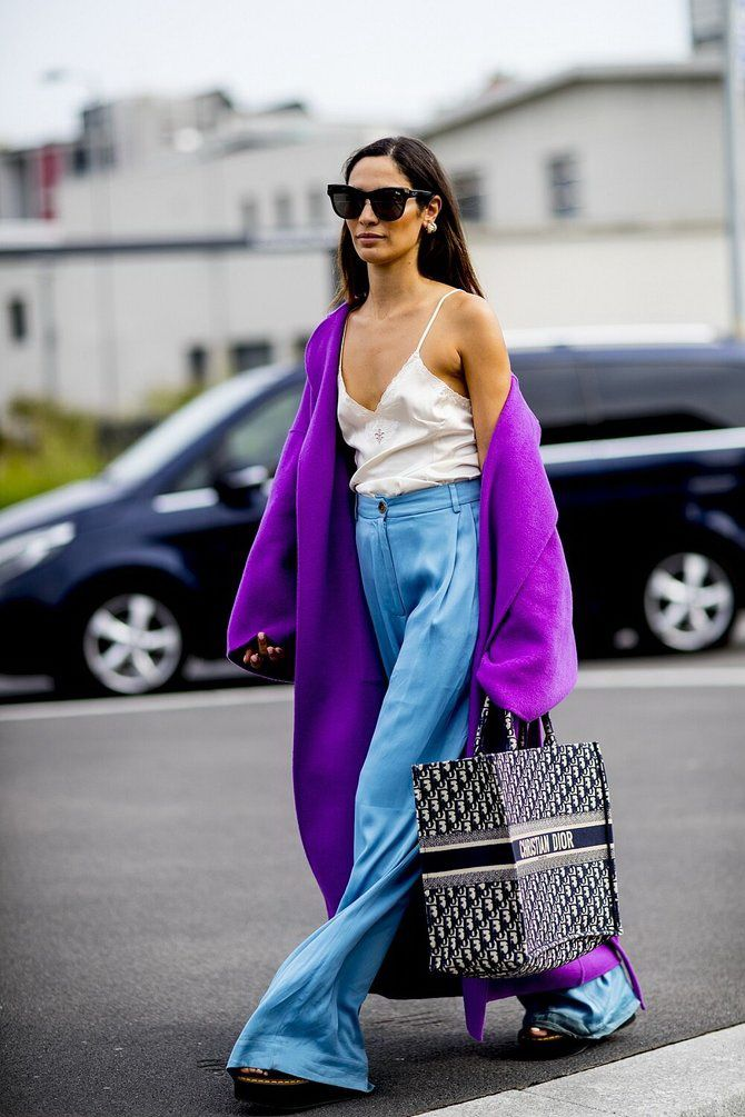 5 идей, как правильно носить фиолетовый цвет 6