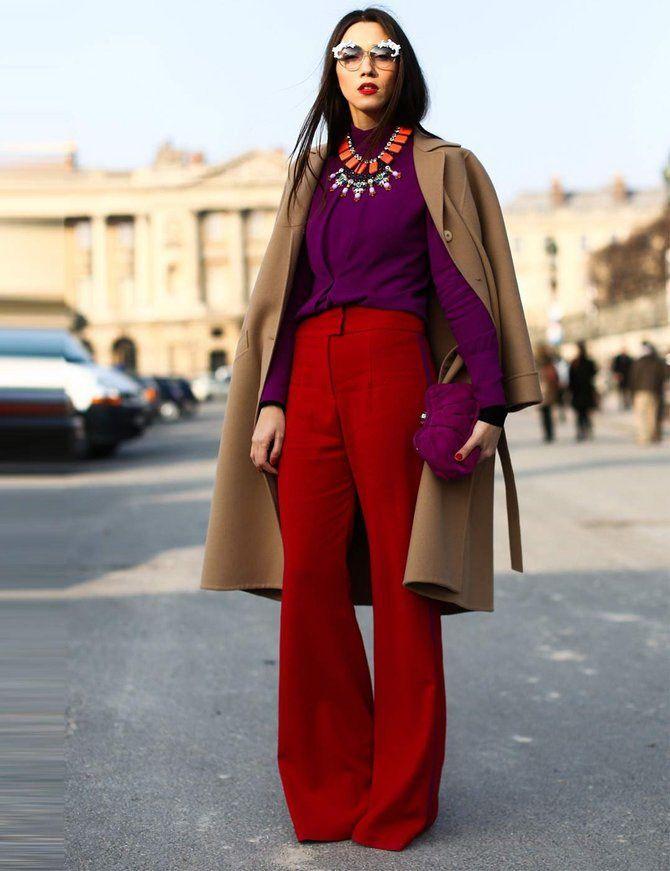 5 идей, как правильно носить фиолетовый цвет 8