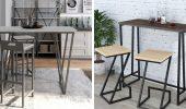 Барные кухонные столы для маленькой кухни: гид покупателя