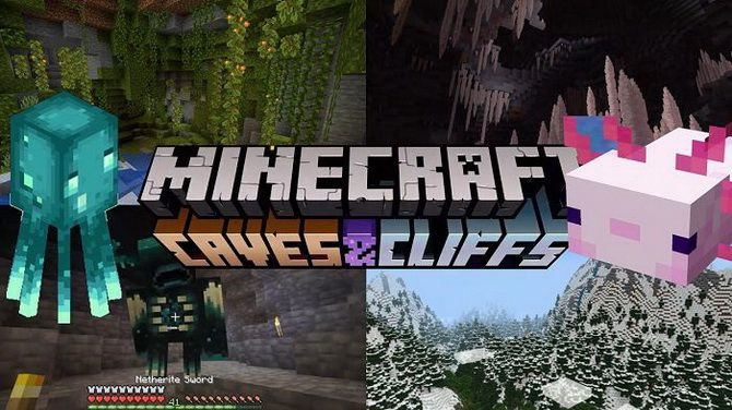 Minecraft the Caves and Cliffs
