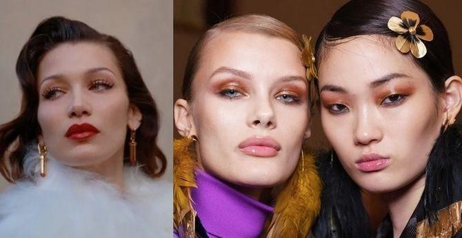 Ефектний, незвичайний макіяж на Новий Рік 2021 6