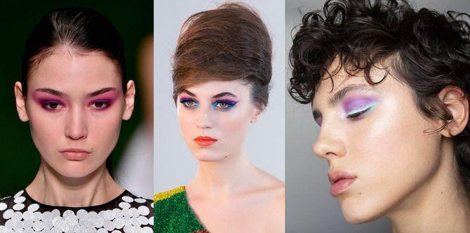 Ефектний, незвичайний макіяж на Новий Рік 2021 2