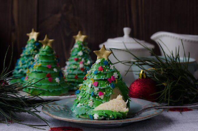 Залишаємо на солодке — смачні новорічні десерти — 2021: рецепти покроково, ідеї, відео 16