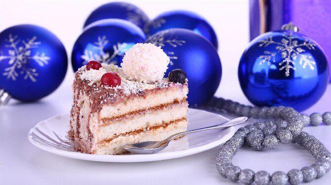 Залишаємо на солодке — смачні новорічні десерти — 2021: рецепти покроково, ідеї, відео 1