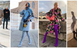 С чем носить ботфорты: фото и модные сочетания 2021 года