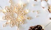 Нежность в каждом кристалле: снежинки из бисера своими руками