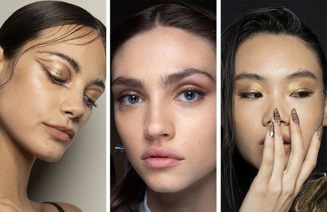 Ефектний, незвичайний макіяж на Новий Рік 2021 5