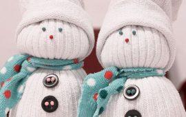 Новогодние поделки из носка – самые красивые украшения на Новый год 2021