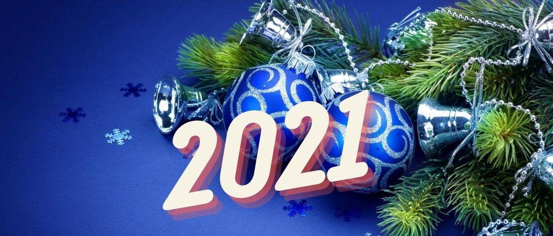 Чудові привітання з Новим роком 2021: листівки і картинки в рік Бика