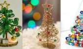 Как сделать необычную елку из проволоки на Новый год 2021: крутые идеи с фото