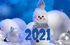 Волшебные новогодние картинки на 2021 год Быка