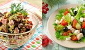 5 quick salad recipes for New Year 2021