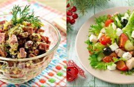 5 швидких салатів на Новий рік 2021