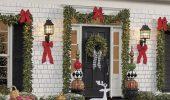 Как украсить дверь с помощью новогодних венков – красивые идеи, правила выбора декора