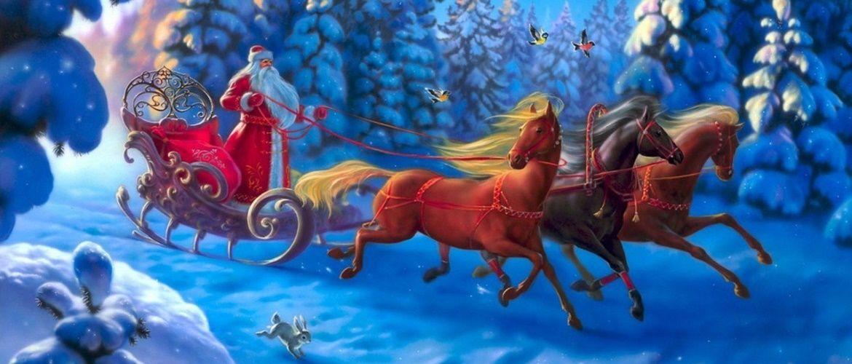 Дуже красиві привітання від Діда Мороза на Новий рік