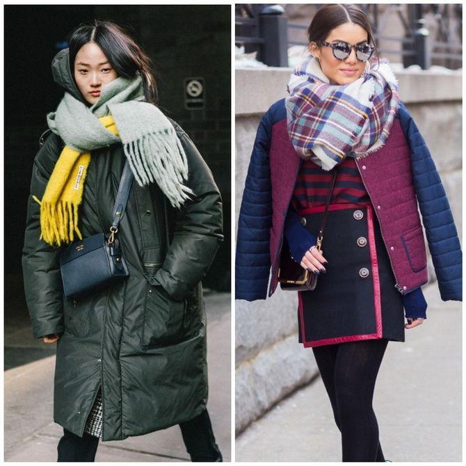 Как носить шарф: 35 неповторимых вариантов 2021 года 13