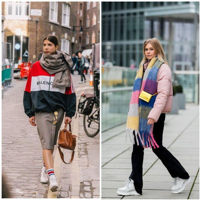 Как носить шарф: 35 неповторимых вариантов 2021 года 14