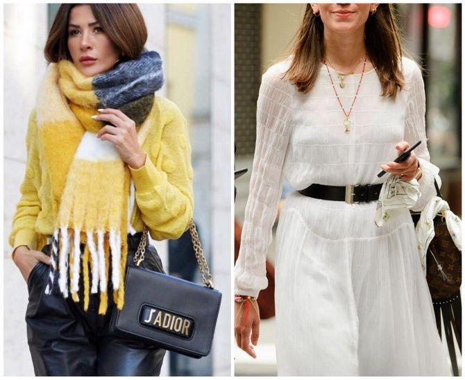 Как носить шарф: 35 неповторимых вариантов 2021 года 15