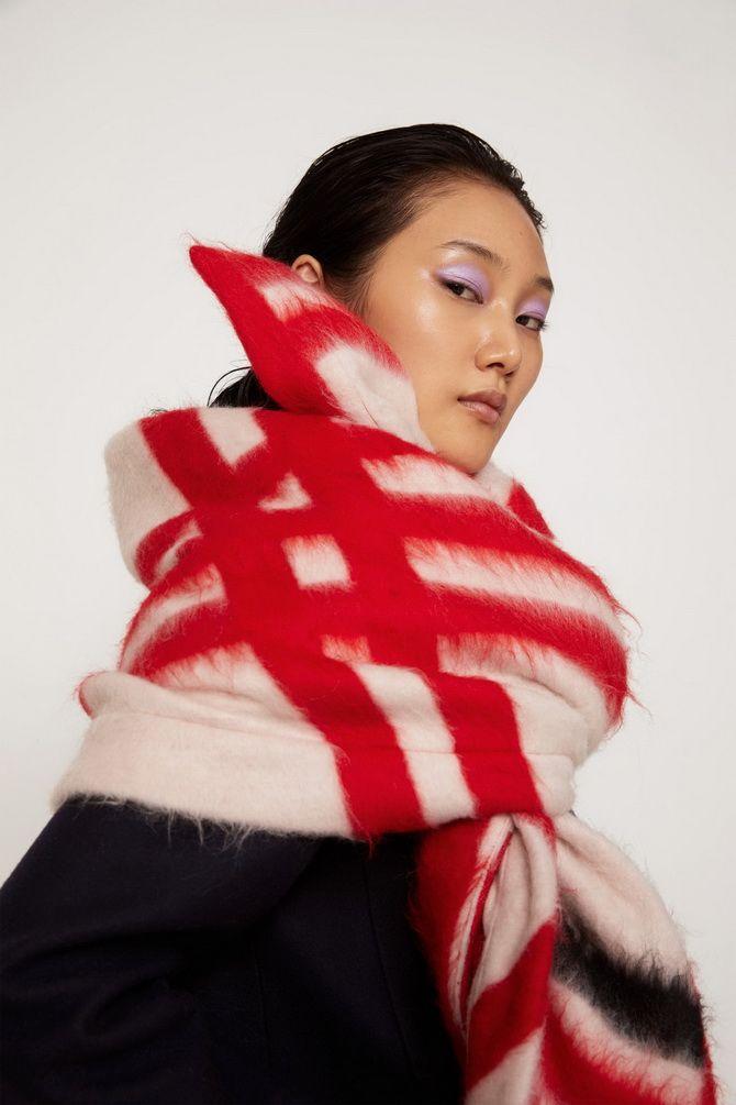 Как носить шарф: 35 неповторимых вариантов 2021 года 19