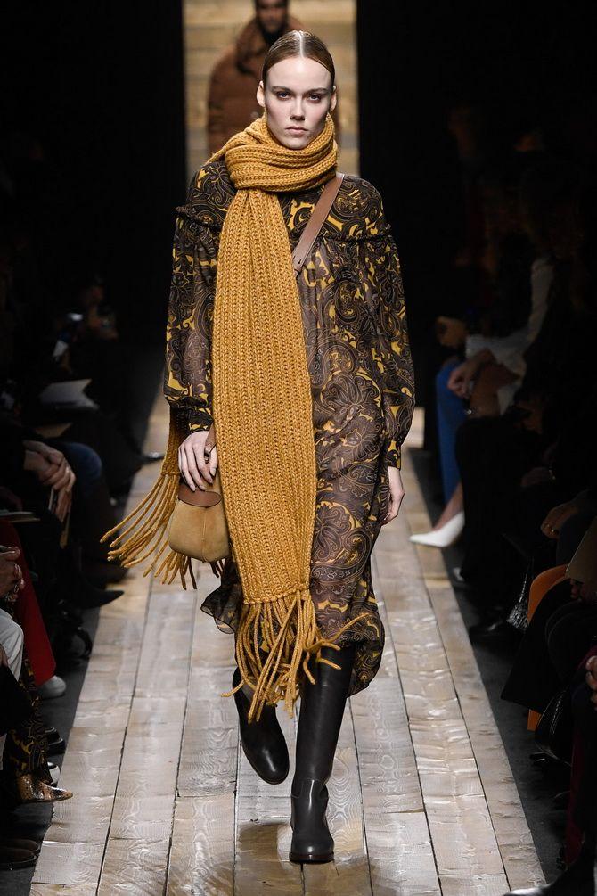 Как носить шарф: 35 неповторимых вариантов 2021 года 2