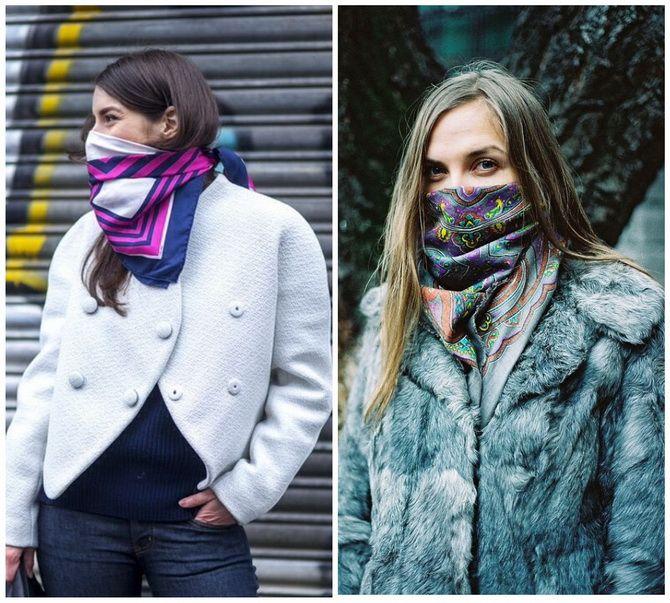 Как носить шарф: 35 неповторимых вариантов 2021 года 20