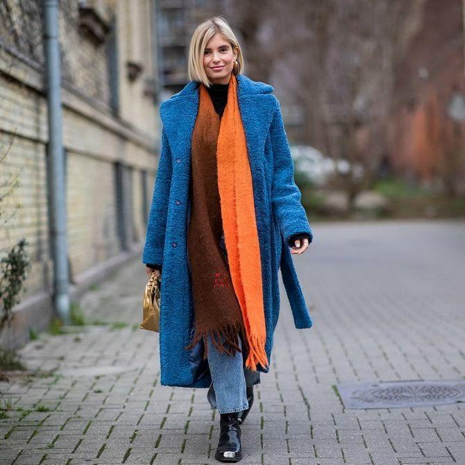 Как носить шарф: 35 неповторимых вариантов 2021 года 28