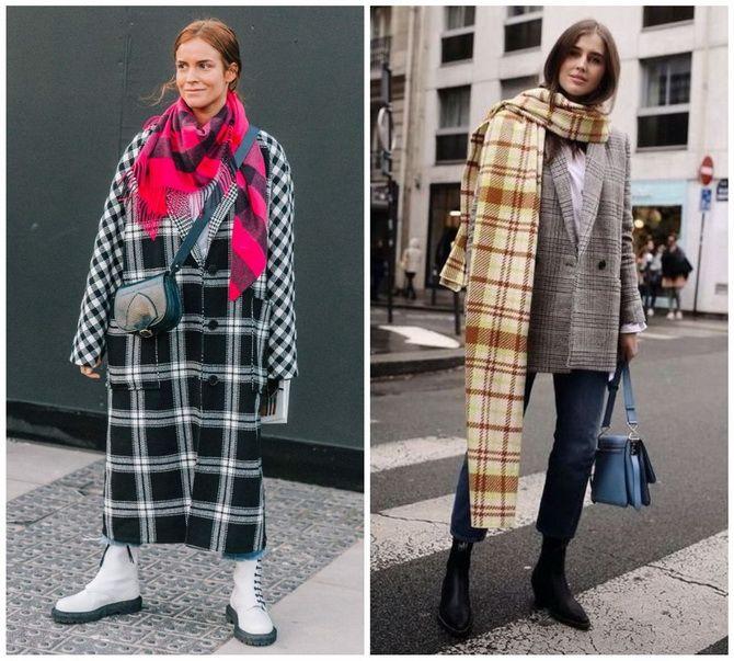 Как носить шарф: 35 неповторимых вариантов 2021 года 32