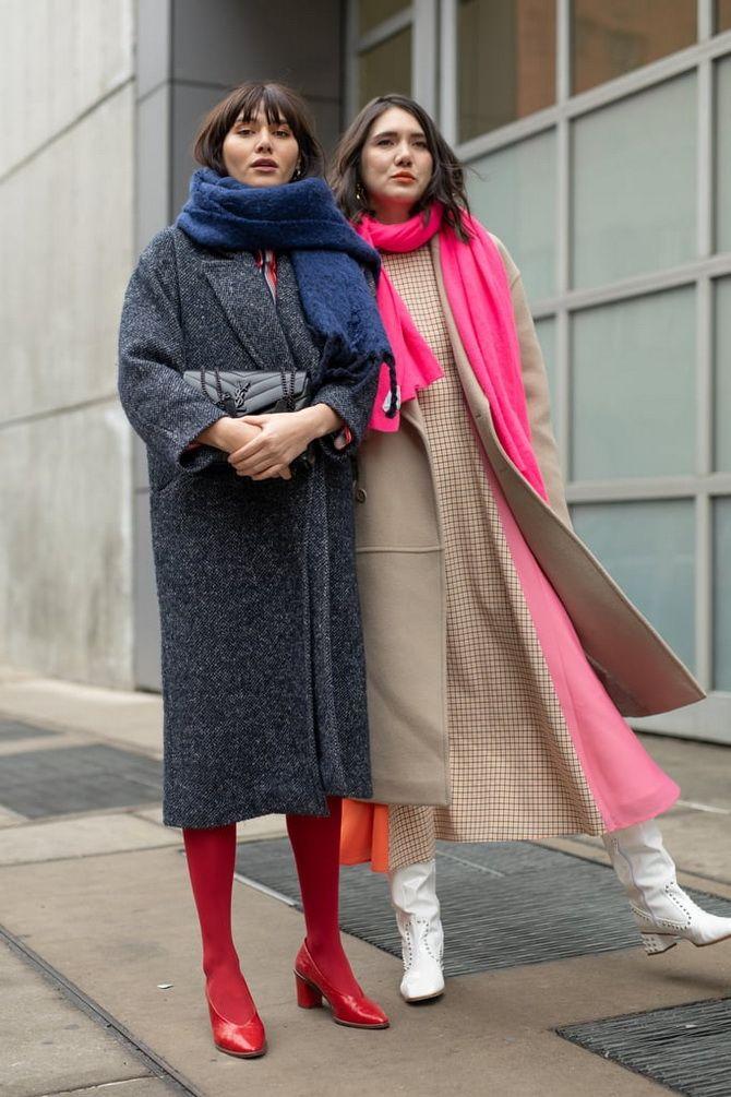 Как носить шарф: 35 неповторимых вариантов 2021 года 8