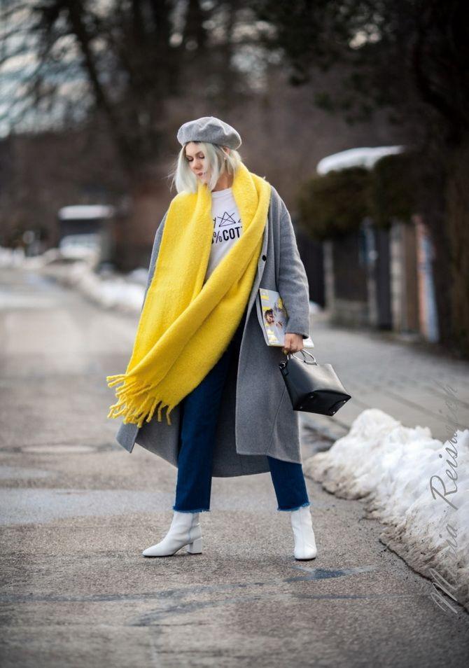 Как носить шарф: 35 неповторимых вариантов 2021 года 9