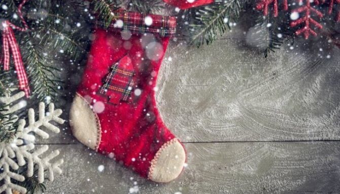 Робимо новорічні шкарпетки своїми руками 1
