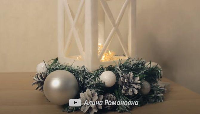 Светлое творчество: новогодние фонарики своими руками 26