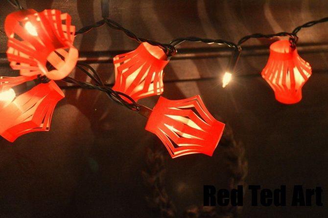 Светлое творчество: новогодние фонарики своими руками 31