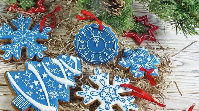 Королі святкового столу: рецепти пряників на Новий 2021 рік, незвичайні ідеї прикраси, фото, відео 1