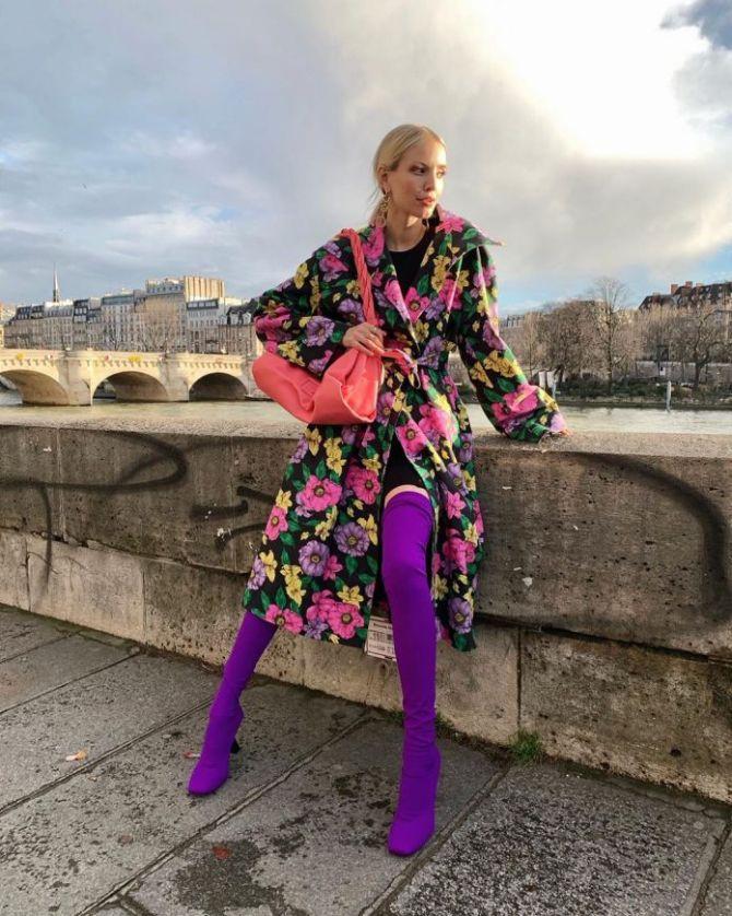 С чем носить ботфорты: фото и модные сочетания 2021 года 15