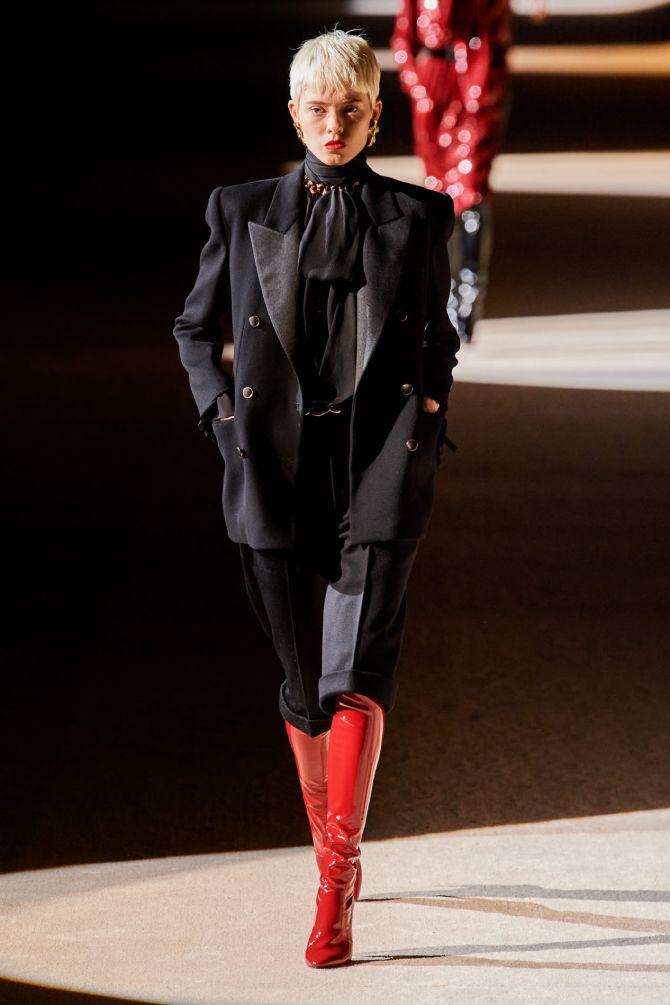 С чем носить ботфорты: фото и модные сочетания 2021 года 16