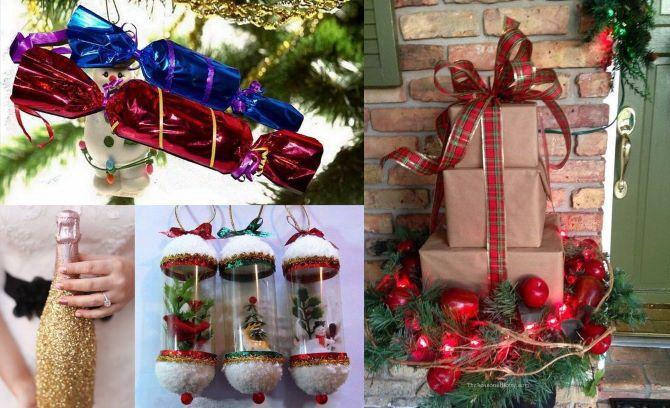 Вуличні новорічні іграшки своїми руками 1