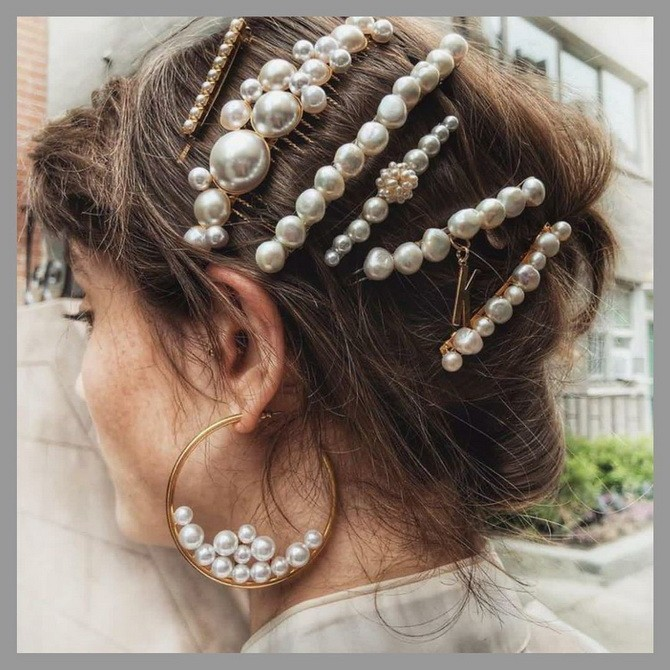 Аксессуары для волос, которые оживят образ 8