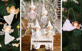 Новогодние ангелочки своими руками: простые мастер-классы на фото и видео, подборка идей от Joy-pup