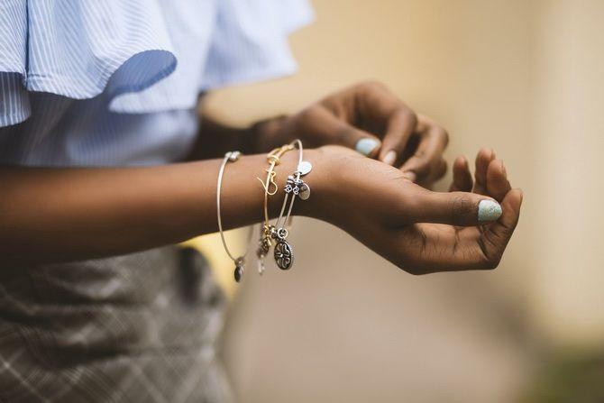 Серебряные браслеты как часть вашего образа 1